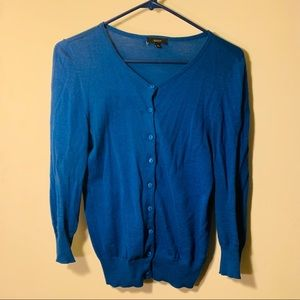 Sweaters - 🌀 Women's Blue Cardigan 💁🏾♀️